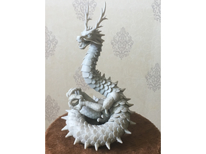 Lung Oriental Articulated Dragon