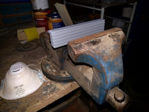 150mm vise jaw