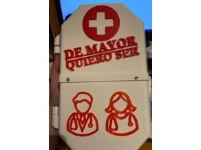 "Serie de Chemobox ""De mayor quiero ser..."""