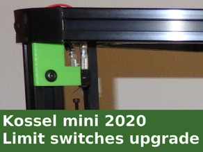 Kossel - Limit switchs upgrade