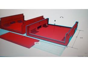 Gehäuse 100mm x 150mm x 50mm, Allzweck für Elektronik