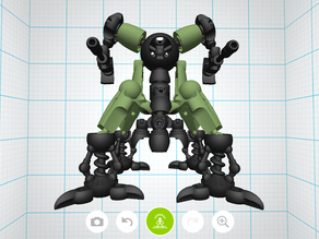 Mecha Sentinel - Tinkerplay Toy 02