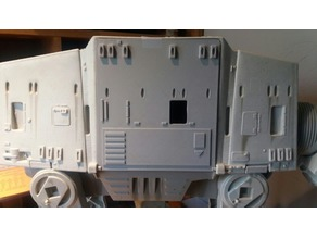 Star wars AT-AT Cargo door (1995 model)
