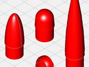 Centuri 5 Series Plastic Nose Cones.