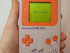 Game Boy Bezel + Buttons