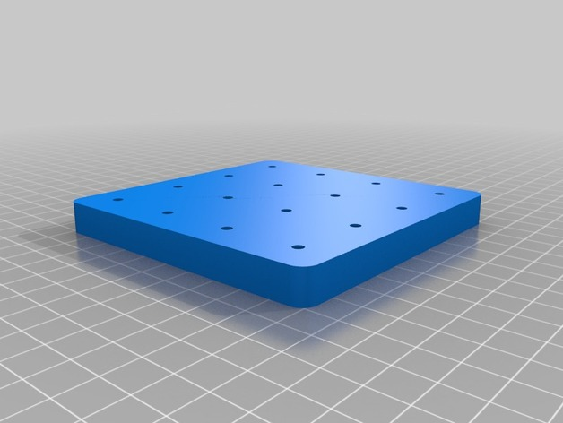 XX Led Cube Template And Base By Alexcavazos  Thingiverse