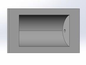 Recessed Cabinet Door Handle