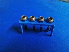 Latrax oil shock stand