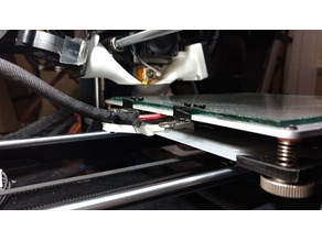Bed cable strain relief Wanhao i3 v2