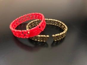 Heart bracelet for TPU/Flex or PLA