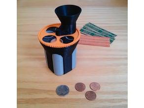 Compact Coin Sorter