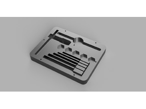 DeWalt 17 Metric Tap Set case
