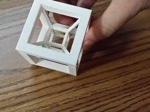 ADHD Cube (Hypercube/4th dimensional object)