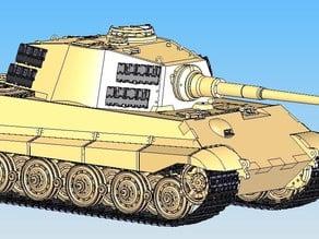 Sd.Kfz.182 King Tiger Tank - Henschel Turret