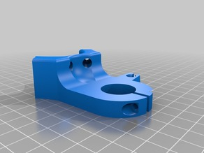 Mostly Printed CNC -Add On- Dremel 300 mount Air Hose Mod
