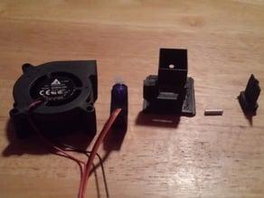 Blower Servo for Smoker setup for Heatermeter