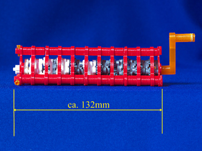 """1,048,576:1 Planetary gear set derived from """"Tiny Planetary Gears Set"""" by aubenc"""