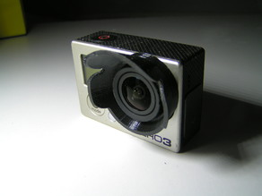 GoPro 3 - Sonnenschutz