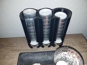 Tealight dispenser / Teelicht spender 3 way version