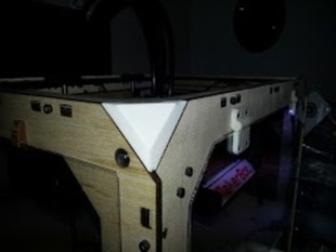 Replicator upper corner filler
