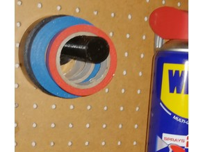 Pegboard Insulation tape Holder 19 mm