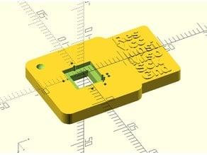ISP Flasher Adapter for Mega8 Atmel AVR TQFP32