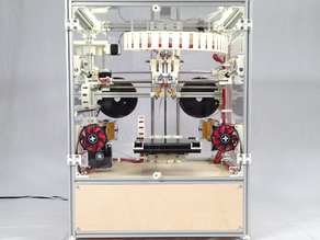 The Kuehling&Kuehling RepRap Industrial 3D printer