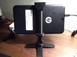 "Quadropod camera phone stand to 7"" Tablet conversion"