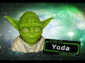 Star Wars - Yoda Name Plate
