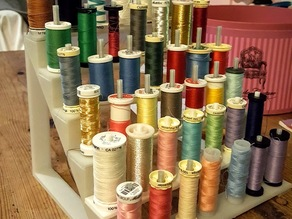 Support bobine fils machine a coudre / Support sewing threads