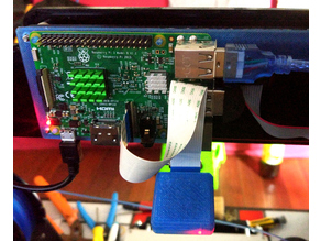 Anet A8 - Raspberry Pi 3 Support with Camera mount.