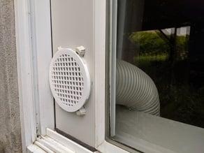 Cover fan air conditioner / Grille pour air climatisé