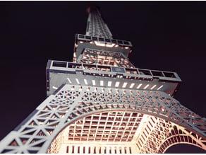 Eiffel Tower Lasercut