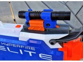 Nerf Flashlight for Nerf Rails & Blasters