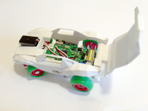 RC Car Arduino-compatible and smartphone enabled: 3DRacers