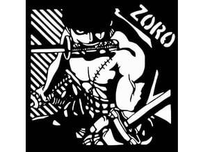 Roronoa Zoro stencil 2