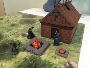 28mm scale firepit