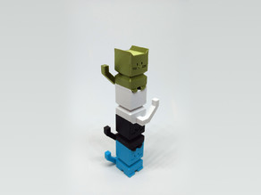 Stacktocat - The Stackable Calibration Cat