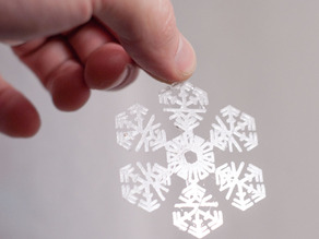 Snowflake for Christmas Tree
