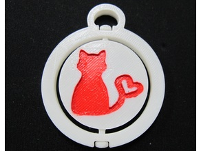 keychain-cat