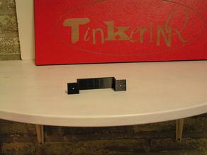 bracket for doodle3D box (MR3020 or WR703N)