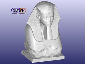 Sphinx Of Hatshepsut 3D Scan