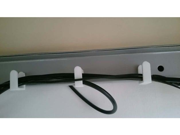 Ikea Desk Clip Cable Management By