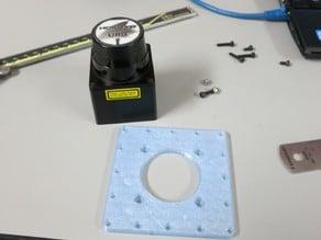 3d printed Hokuyo URG adapter plate for Turtlebot and Turtlebot2