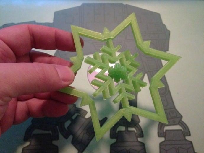 Gimbal Snowflake
