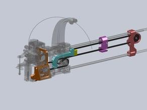 Double Precision Y GT2, Printrbot Simple