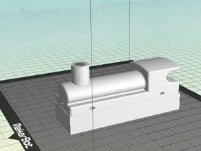 6x2 duplo train engine top