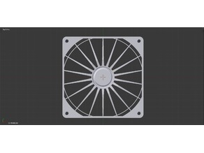 140mm Fan Grill, Racing Style