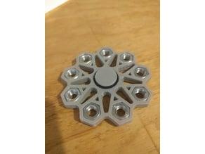 M8 Nut Fidget Spinner