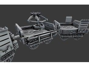 Wagons - Dragon Hunters - 28mm Gaming